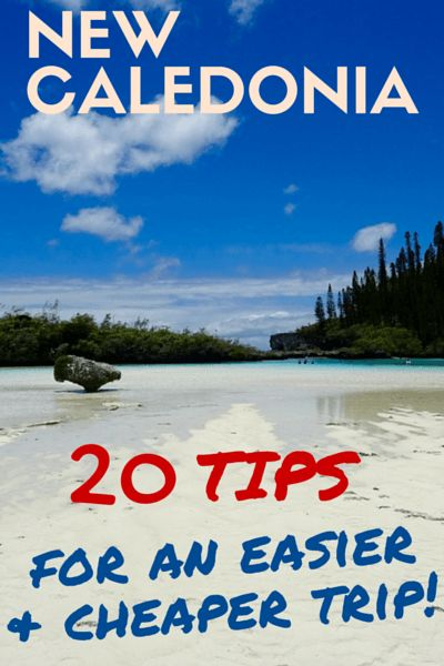 Planning a trip to New Caledonia? Here are 20 tips that will help you & save you from frustrating moments during your travel planning and while you're there! Read them on my blog!