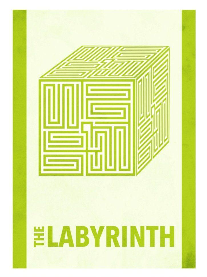 Labyrinth (1986) ~ Minimal Movie Poster by David Peacock