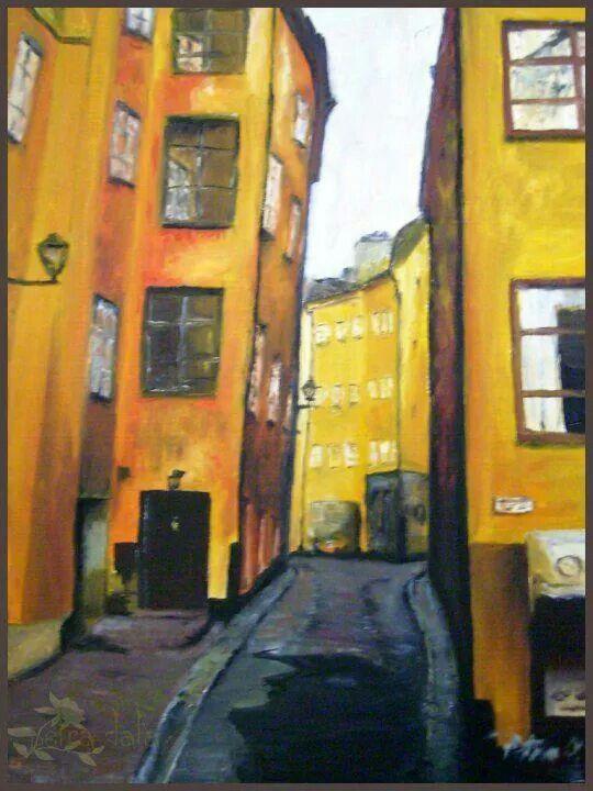 Oil - Petra O. - Stockholm