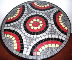 Resultado de imagen para diseños de mesa en mosaicos