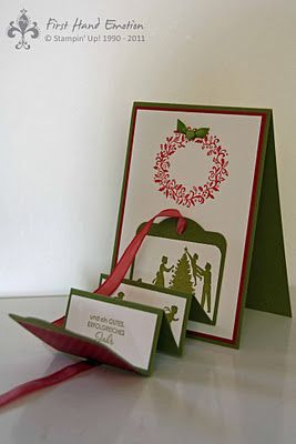 Stampin' UP! Moving Card Two Tags