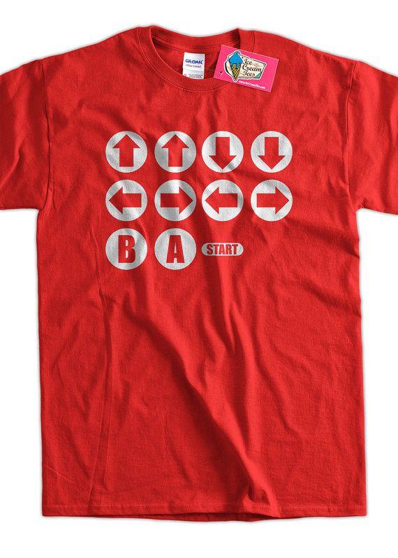 Cool Konami Code shirt