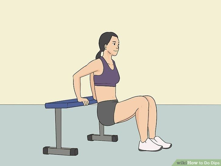 4 Ways To Do Dips Wikihow Traditional Dips Provide Powerful Results Chair Dips Braun Haushaltsgerat In 2020 30 Day Workout Challenge Workout Challenge 30 Day Fitness