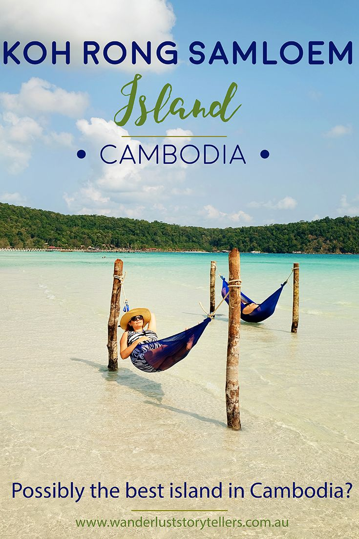 Koh Rong Samloem Island in Cambodia.  Why we chose to go to this island and why we loved it so much!  Read more on wanderluststorytellers.com.au