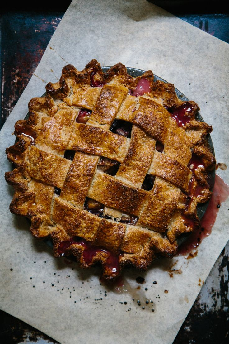Plum pie is my very favorite summer-to-fall transitional treat. Italian plums are so perfectly suited to cooking and baking that I can't resist them at the market everytime I go.