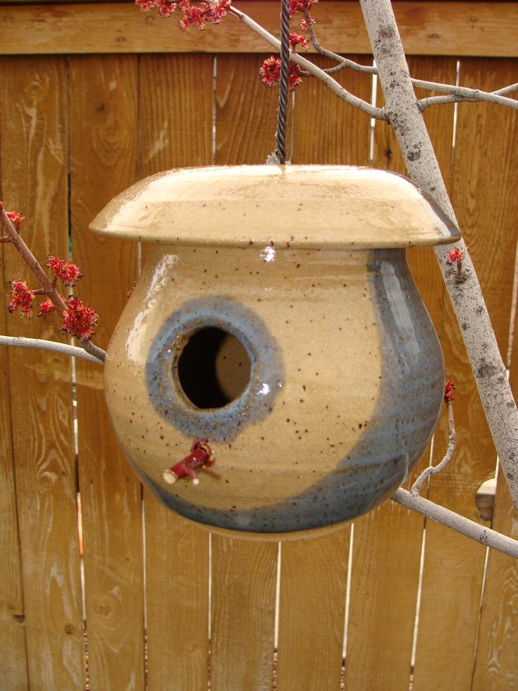 17 best images about bird houses bird feeders on for Unique homemade bird feeders