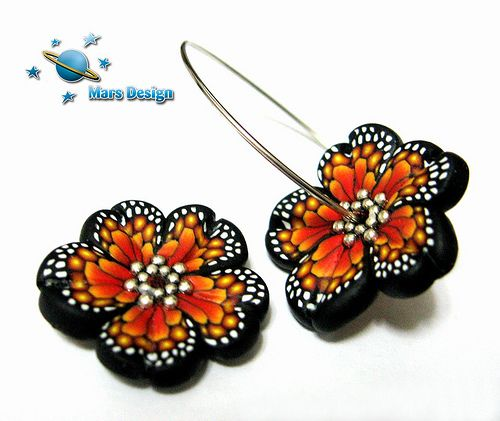 Butterfly flower beads | by Marcia - Mars design