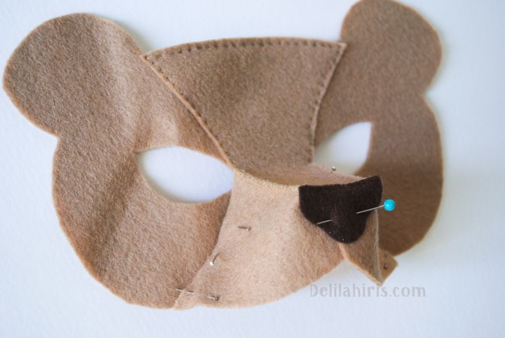 how to make a felt mask