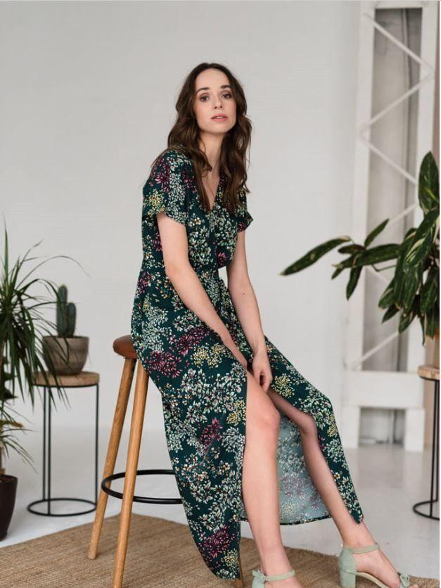 Zielona Sukienka W Laczke Maxi Dresses Fashion Maxi Dress