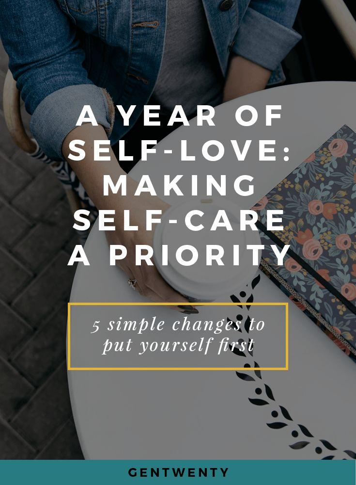 Making self-care a priority, self-care routine, self-love
