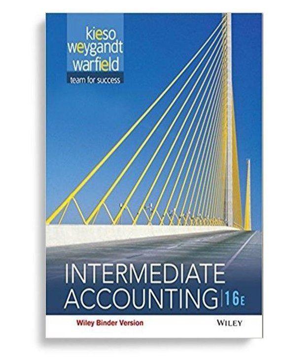 Intermediate Accounting 16th Edition Ebook PDF College