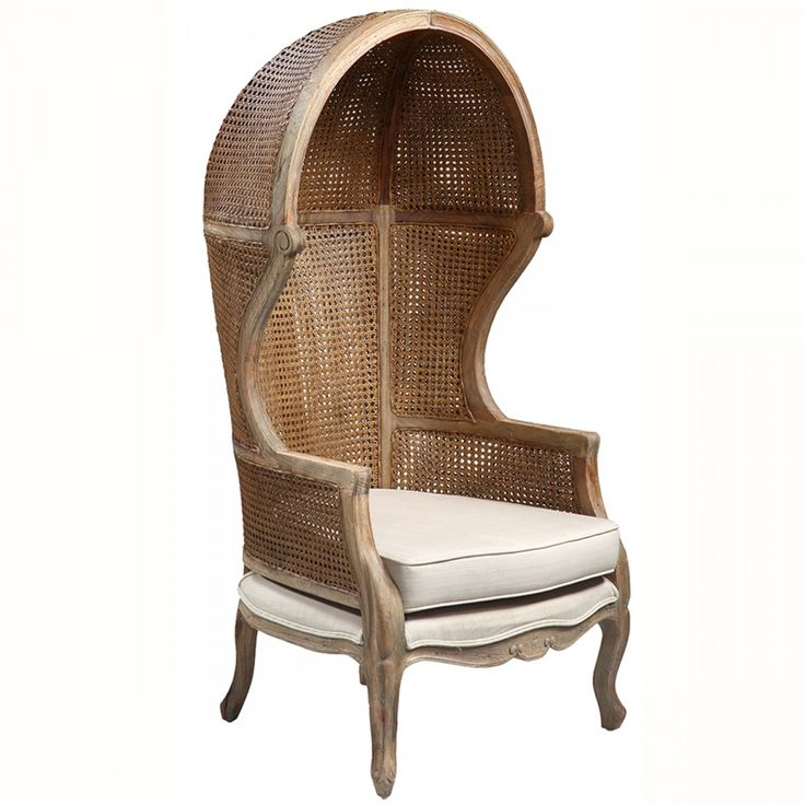 Lars Wicker Dome Chair $652.00 #whitedove | French Home Accessories |  Pinterest