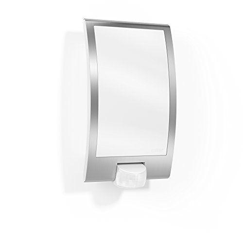 Steinel Sensor Außenleuchte L 22 - Wandleuchte mit 180° Bewegungsmelder und max. 10 m Reichweite , Sensorleuchte aus Kunststoff mit Edelstahlblende für max. 60 Watt, E 27 Fassung, 009816 - http://led-beleuchtung-lampen.de/steinel-sensor-aussenleuchte-l-22-wandleuchte-mit-180-bewegungsmelder-und-max-10-m-reichweite-sensorleuchte-aus-kunststoff-mit-edelstahlblende-fuer-max-60-watt-e-27-fassung-009816/ #Außenleuchten