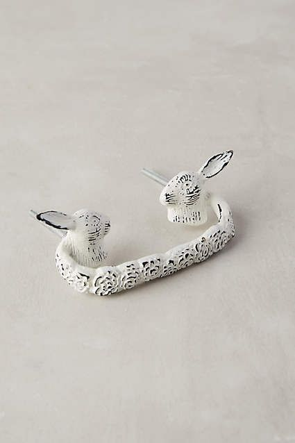 Fabled Fauna Handle - anthropologie.com