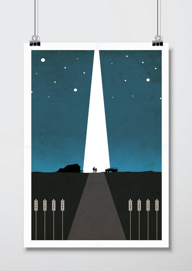 Interstellar Minimalist Print - Interstellar Poster Print, Interstellar Film Wall Art, Cornfield Minimalist Art Print. by FilmPosterPrints on Etsy https://www.etsy.com/uk/listing/523509854/interstellar-minimalist-print