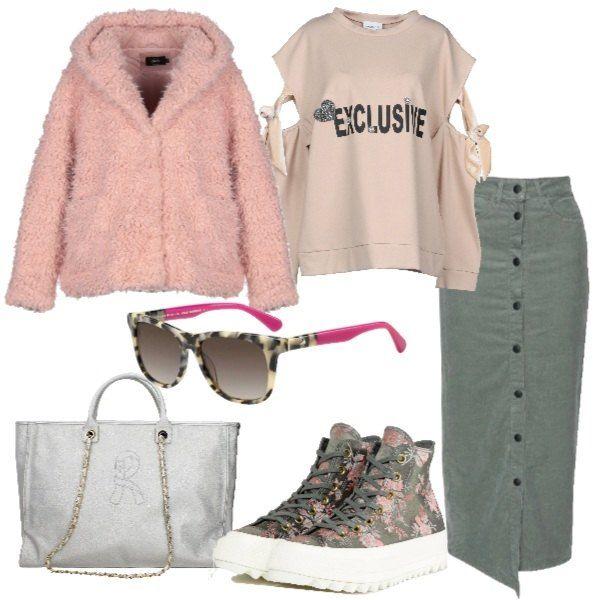 7ab5309fa6 Originale e trendy: giacca in pelliccia ecologica con cappuccio ...