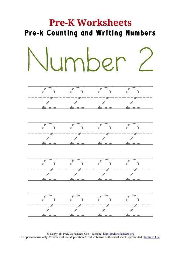 pre k trace number 2 worksheet books art writing numbers tracing worksheets numbers preschool. Black Bedroom Furniture Sets. Home Design Ideas