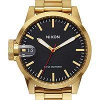 Reloj Nixon Dorado acero