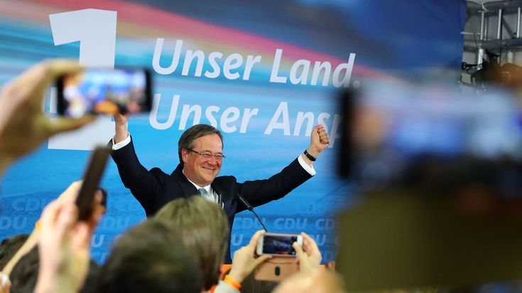 RT Deutsch vor Ort: Wahl in NRW - Kommentare und Bilder vom CDU-Wahlsieger