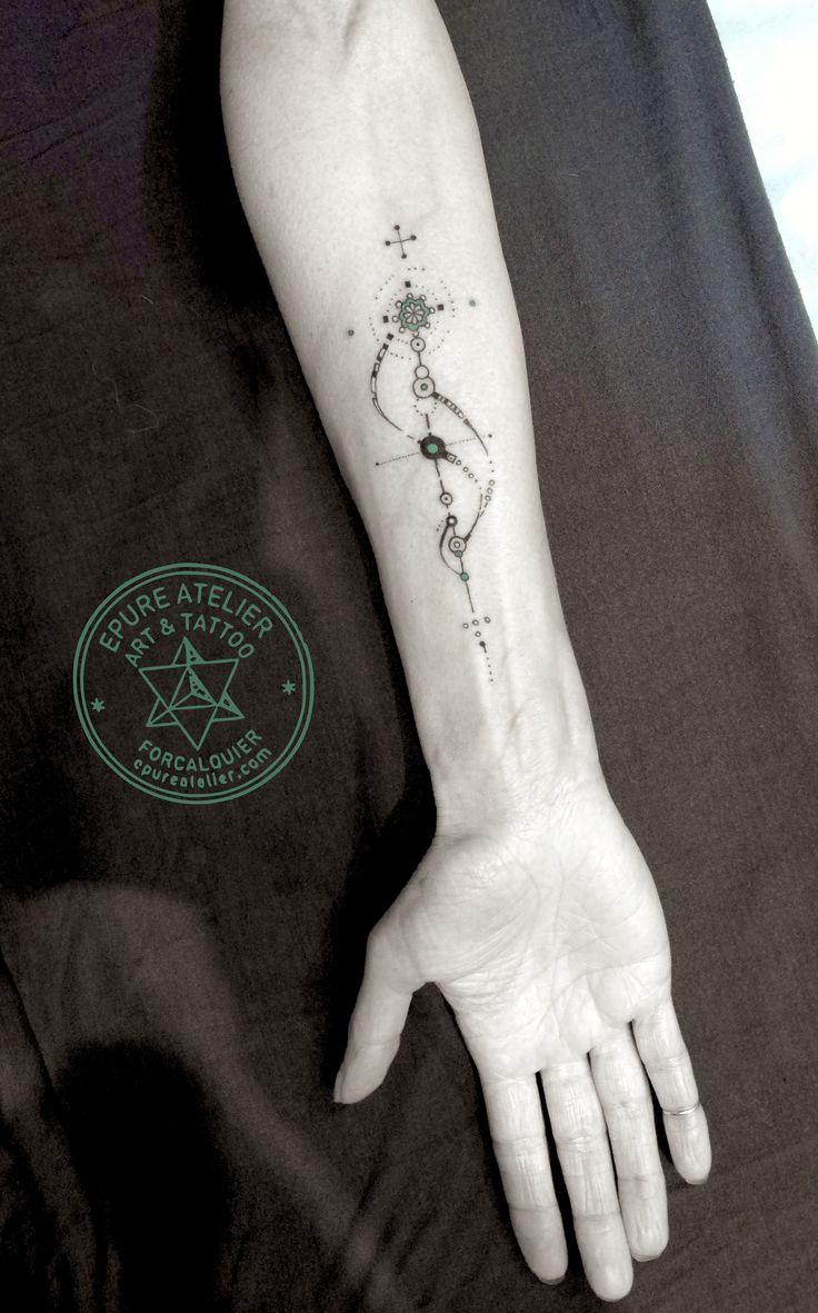 Petit Bijou pour Joce. Epure Atelier// Tattoo artist : Marie Roura