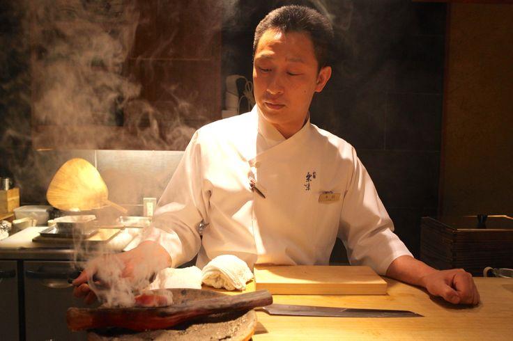 sashimi master form Kyoto