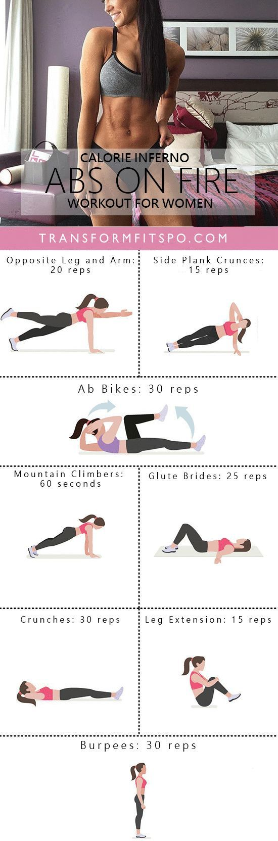 Repin and share if this workout melted your belly fat away! Read the post for the info!