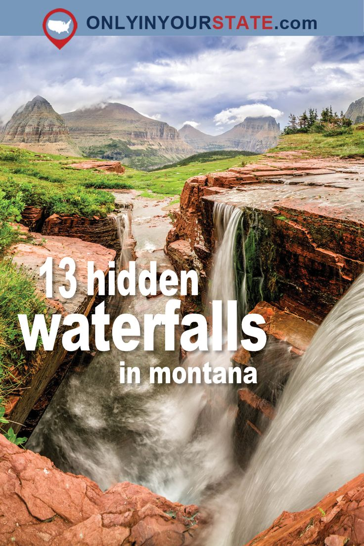 Travel | Montana | Waterfalls | Attractions | Outdoor | Nature | Scenery | Explore | Discover | Outdoor Attractions