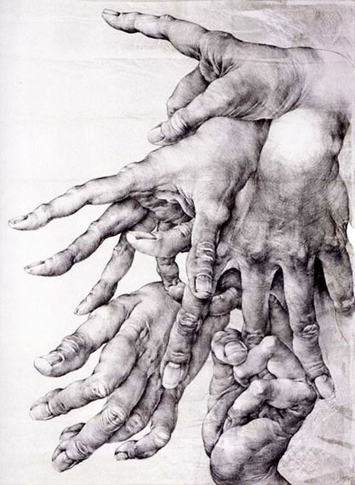Hands by Oldřich Kulhánek selected by GORGONIA www.gorgonia.it