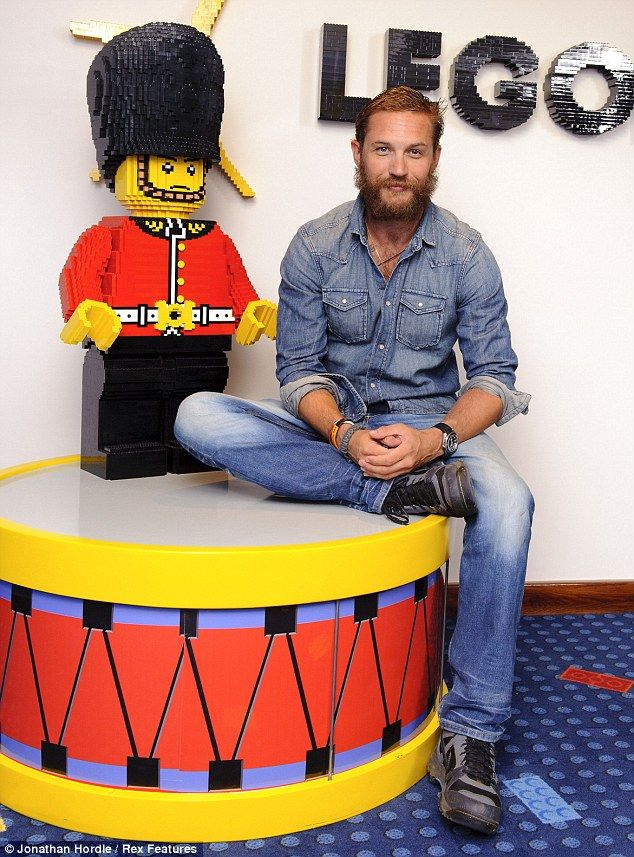 Tom Hardy and a lego man .... does it get any better than this?!