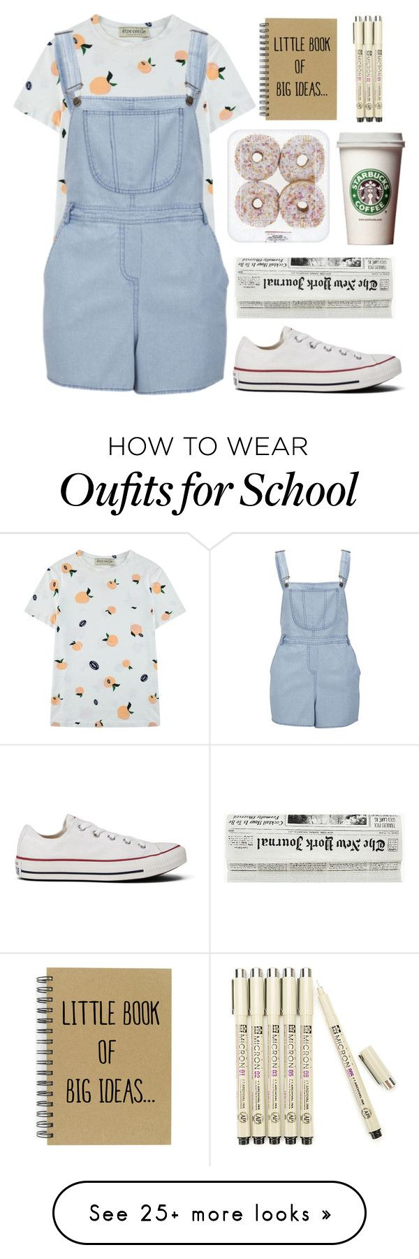 """""""i don't know her name yet!!"""" by buesosanchez on Polyvore featuring Être Cécile, Influence and Converse"""