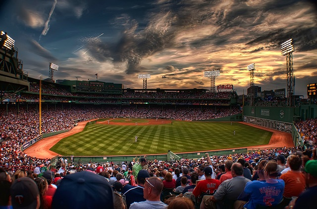 beautiful fenway & the green monster