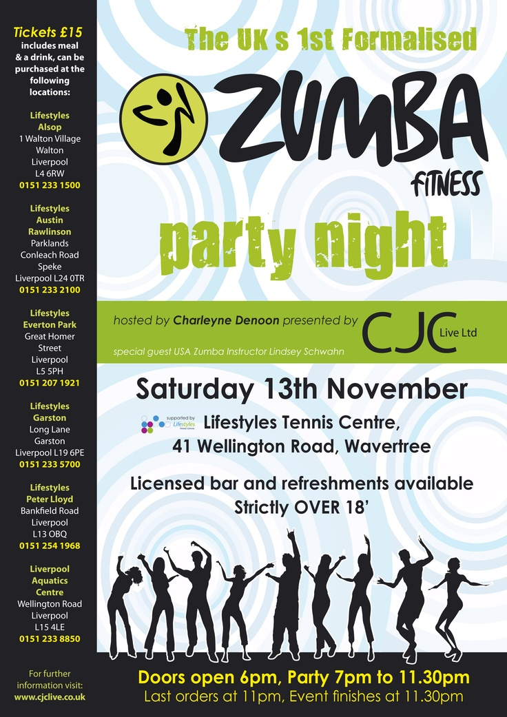 17 Best images about Zumba Fliers on Pinterest | Logos, Behance ...