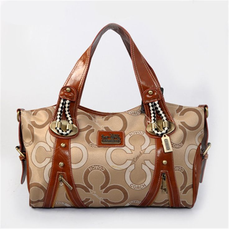 low-cost Brown Golden Coach Handbag on sale online,save up to 90% off hunting for limited offer,no tax and free shipping.#handbag #design #totebag #fashionbag #shoppingbag #womenbag #womensfashion #luxurydesign #luxurybag #coach #handbagsale #coachhandbags #totebag #coachbag