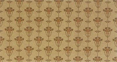 Craftsman Style Wallpaper   Alise Wallpaper in Natural   Bradbury & Bradbury