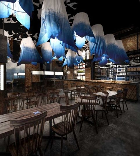 New London restaurant is looking cool with Oslo theme..