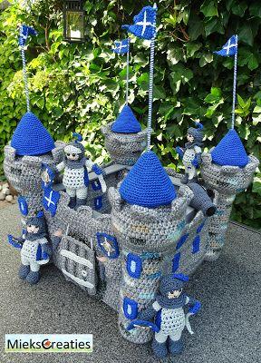 Miek Creations: Crochet Pattern Castle