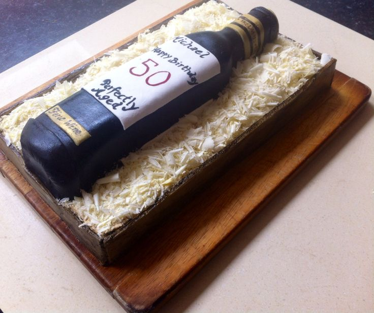 Wine in a box cake A wine lovers cake!coffee cake with marshmallow fondant, coffee icing and Belgium white chocolate shavings