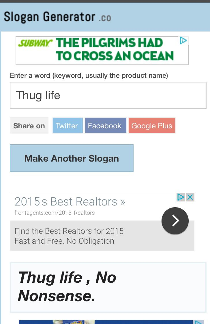 Worksheets Advertising Slogans Worksheet 25 melhores ideias de slogan generator no pinterest espinhas so i typed in thug life to a and was not disappointed