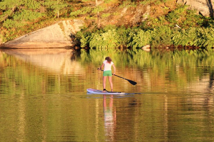 #SUP adventure love paddling lakes