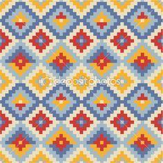 textura geométrica étnico