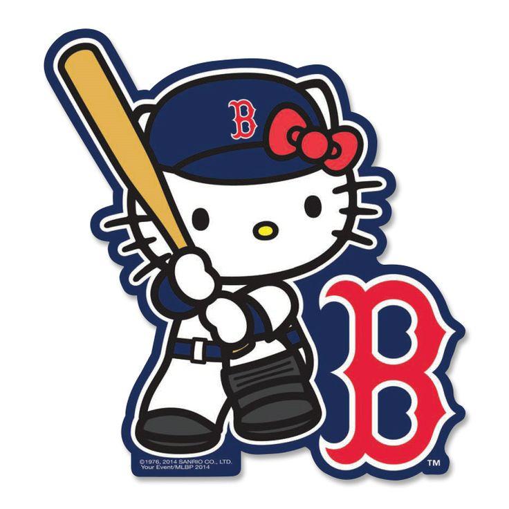 Boston Red Sox Hello Kitty Batter Decal Sticker, $5 via Shop.MLB.Com | Dirty Water | Pinterest ...