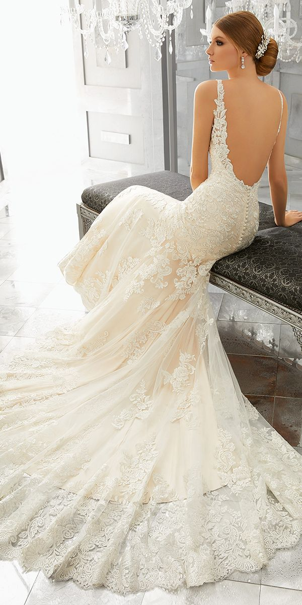 Mori Lee Wedding Dresses And#8211; 2018 Collection ❤ See more: http://www.weddingforward.com/mori-lee-wedding-dresses/ #weddings