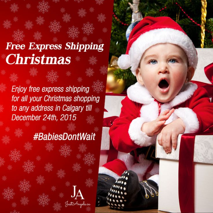 Enjoy Free Express Shipping for all your Christmas shopping in Calgary till December 24th.