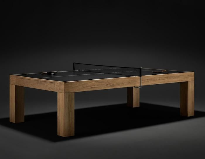 World's Most Elegant Ping Pong Table: Remodelista