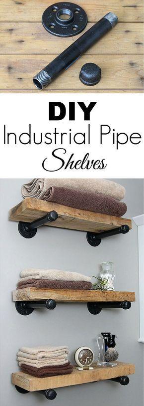 Machen Sie es sich selbst. #diy #selver # industrial furniture #ind …   – Katze