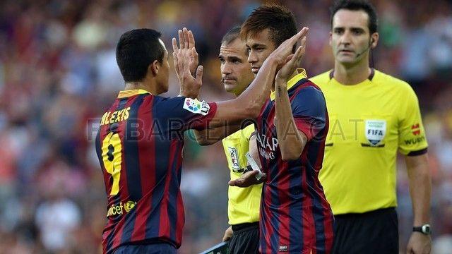FC Barcelona 7-0 Levante | FC Barcelona. Alexis & Neymar. [18.08.13]