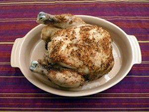 poulet entier mijoteuse