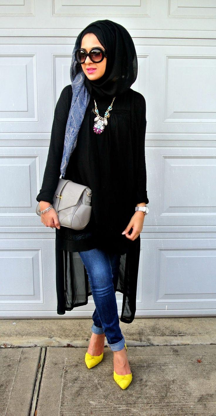 29 best hijab styles images on pinterest hijab fashion Fashion style hijab modern