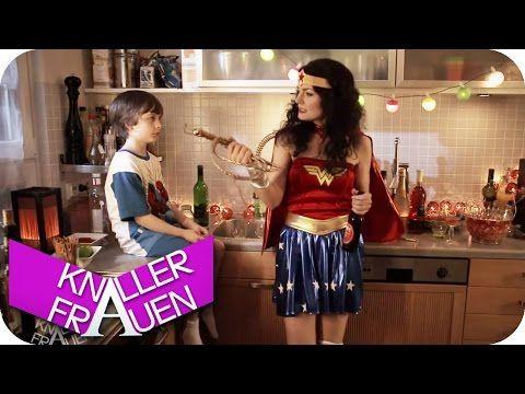 Wonder Woman - Knallerfrauen mit Martina Hill in SAT.1 - YouTube