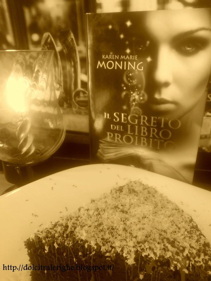 Dolci tra le righe: Il segreto del libro proibito di Karen Marie Moning con Torta cioccolato e Whisky. La ricetta originale irlandese! http://dolcitralerighe.blogspot.it/2014/09/il-segreto-del-libro-proibito-di-karen.html